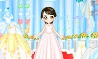 Habillage d une mariée