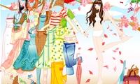 Jeux d'habillage de filles