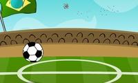 Jonglage de ballon de foot