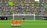 Tirer des buts au football