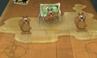 Foot sur table