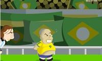 Jeu de foot avec Ronaldo