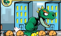 Dinosaure en ville