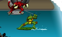 Tortues Ninja surf