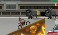 Cascadeur en moto