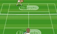 Jeu de tennis Wimbledone