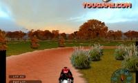Course 3D de motos