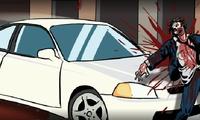 Ecraser des zombis en voiture