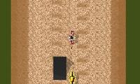 Motocross sur sable