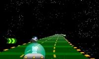 Course de voitures spatiale