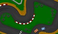 Course de voitures avec Phinéas et Ferb