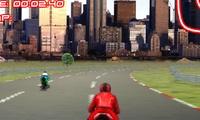 Course de motos en 3D