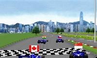 Course de formule 1 avec Ho-pin Tung