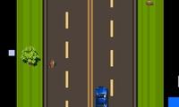 Course poursuite en voiture