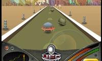 Course de voitures aliens