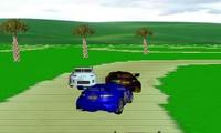 Course 3D de voitures