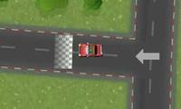 Conduire une voiture dans les rues