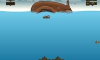 Chasse au trésor sous marine