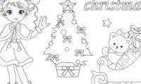Coloriage pour Noël