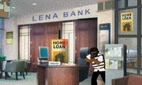 Cambriolage dans une banque