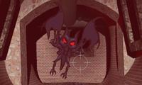 Tirer sur des démons
