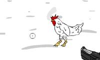 Chasseur de poulets
