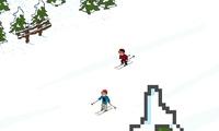 Lancer des boules de neige