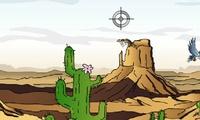 Chasse dans le desert