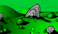 Tirer sur les aliens