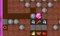 Kirby cherche un trésor