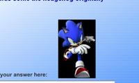 Sonic Quiz 1