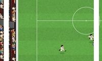 Jouer à un match de foot