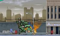 Détruire une ville avec un robot