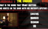 Quiz les films d'horreur