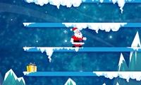 Bonhomme de neige contre le pere noel