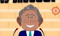 Lancer de chaussures sur Georges Bush