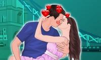 Bisous en amoureux