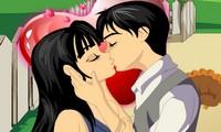 Jeu où il faut embrasser