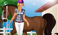Barbie équitation