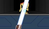 Entrainement au sabre laser