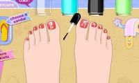 Manucure des pieds