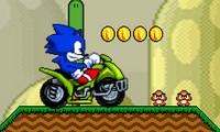 Sonic en Quad dans le monde de Mario