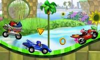 Sonic course de voiture