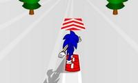 Sonic Snowboard en 3D