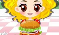 Burger fille