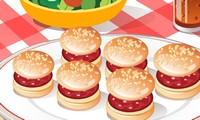 Créer des hamburgers