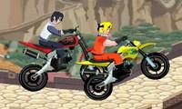 Naruto course de moto
