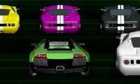 Course de voitures Ben 10 en 3D