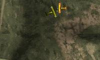 Jeu de combat en avion de guerre