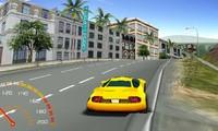Voiture 3D en ville